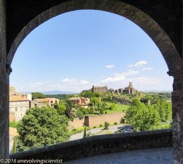 Basilica di San Pietro, viewed from the Centro Storico, Tuscania, Viterbo Province, Lazio