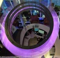 Fun from above reception desk, Indigo Paddington Hotel, London