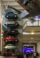 Fun stacking cars - Science Museum, London